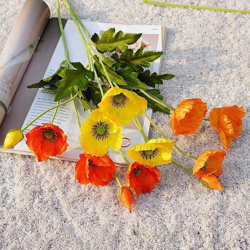 Wedding Flowers Bouquet partido Home flores artificiais Casa e jardim Decoração de alta qualidade decoração Home Bkvp #