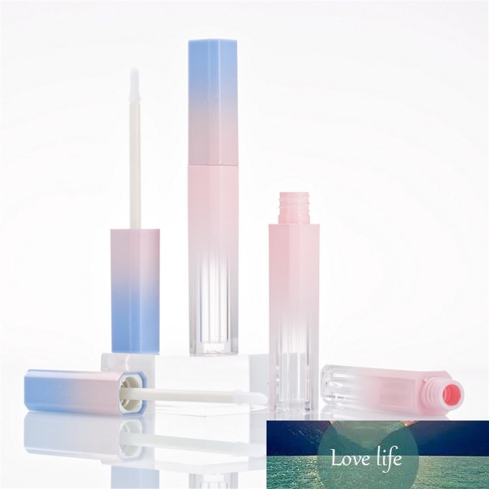 Vazio Tubo Lip Gloss rosa azul do inclinação Lip Glaze tubo DIY Batom Cosmética Embalagem Container