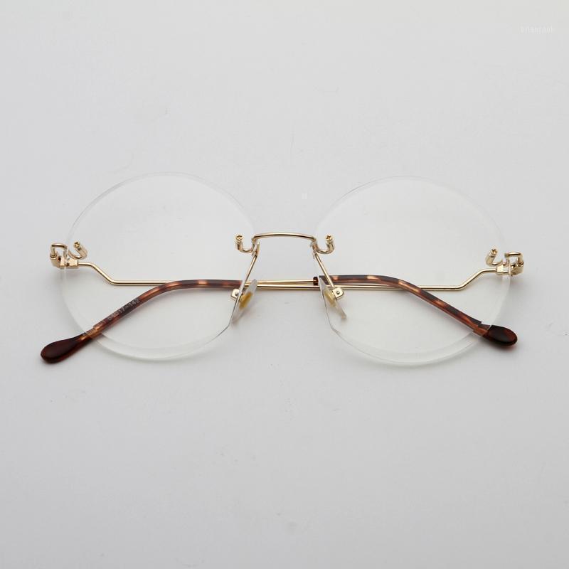 Zuczug moda sem aro óculos de sol mulheres design cristalino lente sol óculos senhoras vintage eyewear