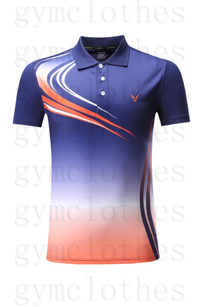 Badminton giymek t-shirt kısa kollu hızlı kuruyan renk eşleştirme baskılar spor giyim jerseys000005