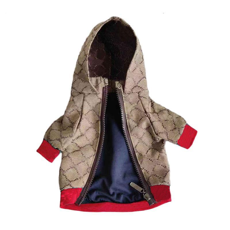 الفاخرة الكلب سترة الشتاء للكلاب الصغيرة الفرنسية البلدغ معطف الأزياء أجش تشيهواهوا زي الحيوانات الأليفة ملابس دروبشيبينغ T200710