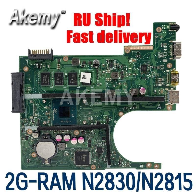 Amazoon X200MA Laptop motherboard For Asus X200MA F200M F200MA Test original motherboard 2G-RAM N2830/N2815