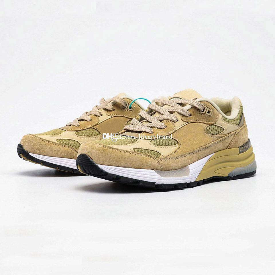 M992 кроссовки для мужчин замшевые кроссовки мужские спортивные туфли женщин бегущий обувь женские тренеры мужчина тренировка женщина спортивные прессы коричневые
