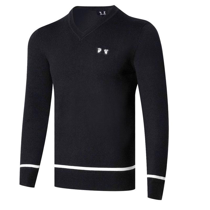 New manga comprida Golf camisola 3 cores Homens Golf roupas manga Outono Inverno Lazer Outdoor Esporte longa camisola Golf T-shirt 201012