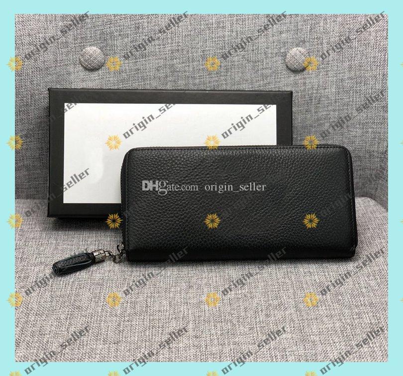 Double Zippy Wallet wallets purse wallet Mode cuir Portefeuille pour hommes Avslappnad portefeuille en cuir titulaire de la carte Homme