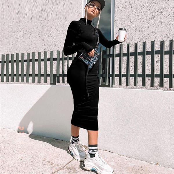 O8RJ Lady Fashion Backless Elastico Matita per Womenshoulder senza maniche WD62 Trappola Dress Sex Fit Abiti Vestidos Bodycon Abiti Abiti Spaghetto