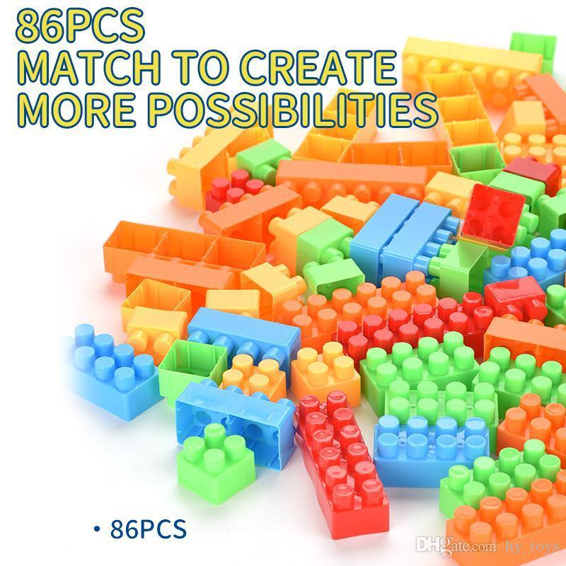 Oyuncak bloklar, bulmaca eğlenceli, bloklar çeşitli şekiller, bloklar mutlu harcama öğrenme, bebeğe gerçek eğlence getirmek için