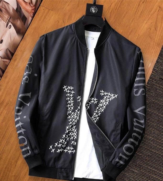 클래식 플로랄 패턴 디자이너 망 캐주얼 재킷 # 002 파리 오프 럭셔리 꽃 가을 겨울 패션 브랜드 코트 흰색 편지 겉옷 BB