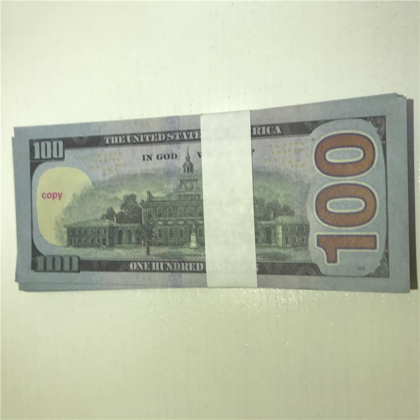 100 Quality Shipping Currency Wholesale Currency Paper Copy Pieces/package Free 100-3 Props Money U.S. High Gnnag Jcfmr