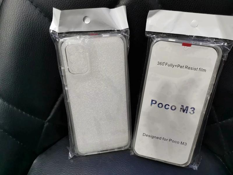 Doppelseitig 360-Grad-Ganzkörper-Abdeckungsfall für Xiaomi 10 PRO MI 10T Lite 5G PRO Redmi 9 9A 9C Hinweis 9 POCO M3 Crystal Hard PC + TPU-Abdeckung