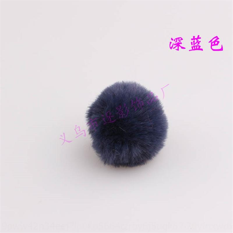 GJRXW имитация кроликов аксессуары DIY меховой меховой шарбильный телефон DIY искусственные волосы шариковые аксессуары для волос