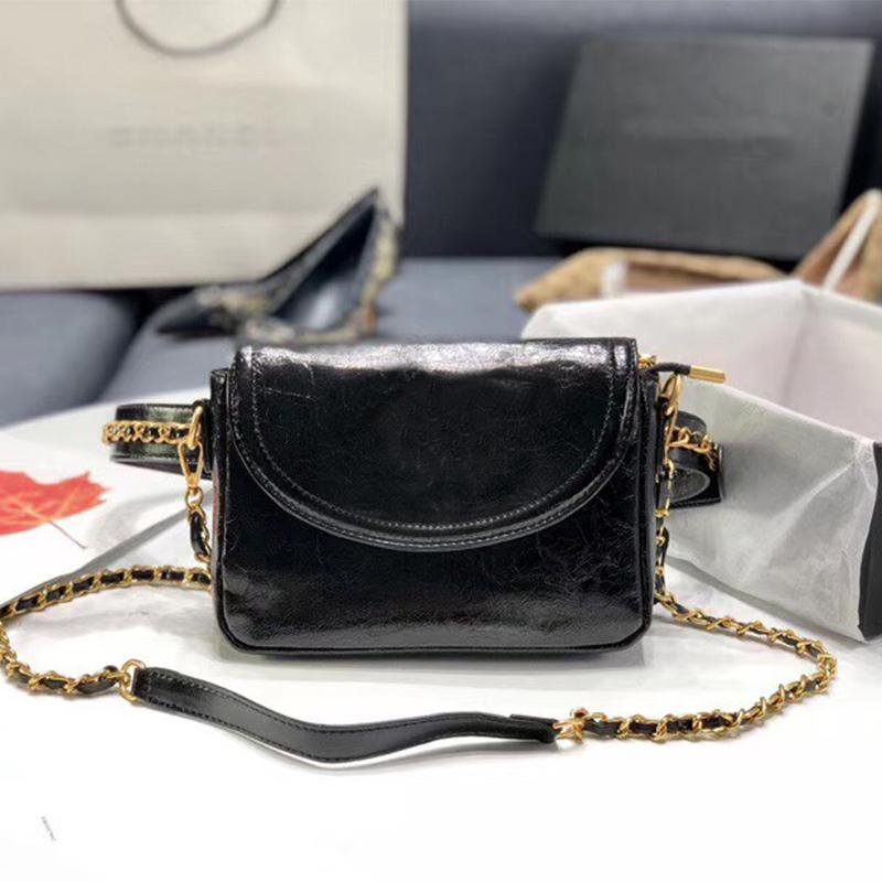 19 Brand Cc 2020 Bag Waist High Quality Quilted Designer Lady Crossbody Luxury Handbag Shoulder Black Leather Chain Purses Womens Famou Bcds