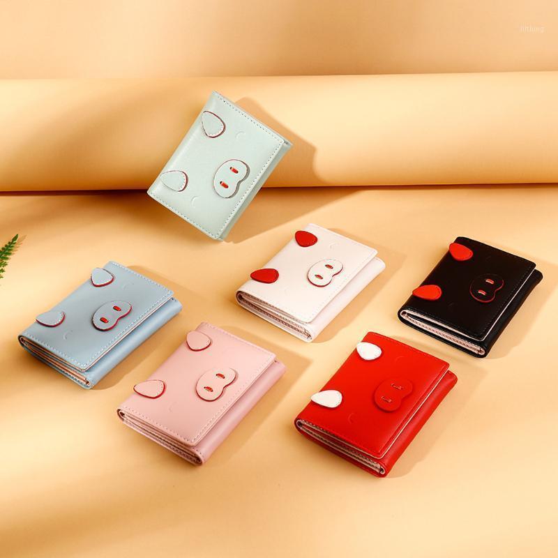 Small Cute Wallet Short Purses Ladies Para Coin #1 Women Card Holder Monederos Monedas Y Pocket Mujer Tarjetas With Xakji