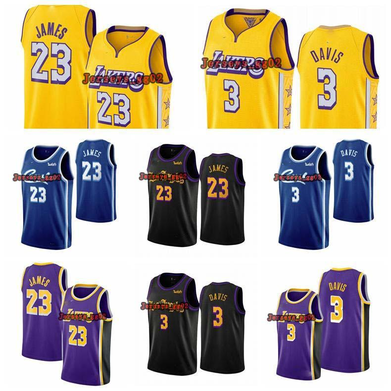 NCAA LeBron 23 James Anthony 3 Davis Los Angeles