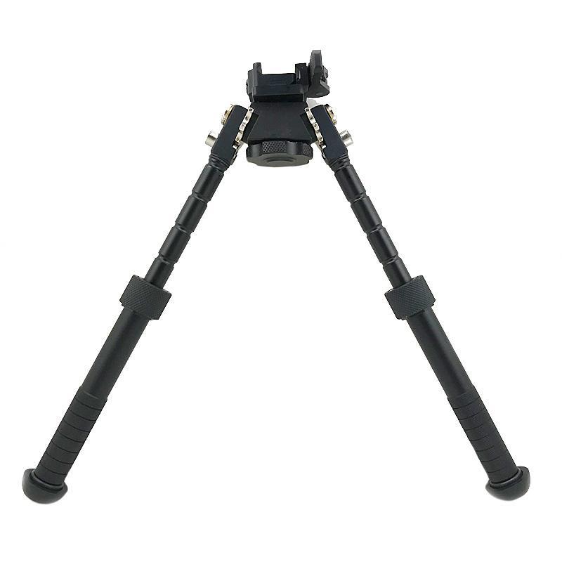 Tactical BT10 V8 Atlas bipé 360 graus ajustável Precision bipé Com QD Monte Para Hunting Rifle preto