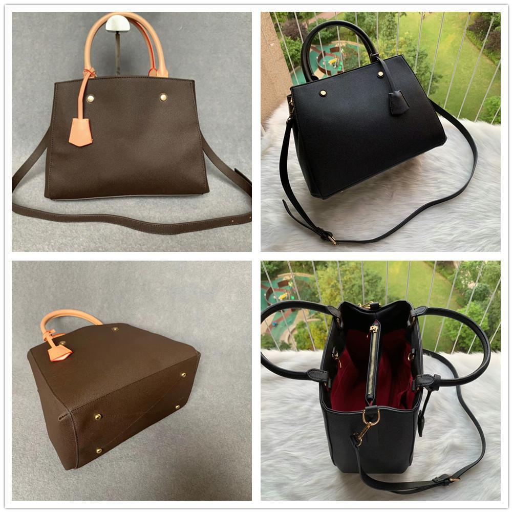 Luxurys Designers Totes Bag Mulheres Sacos de Compras Crossbody Messenger Handbags Ladies Couro Designer Bolsa bolsas