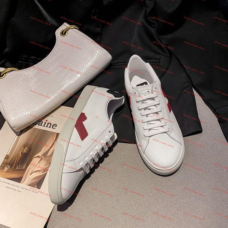 Veja shoes PLATAFORMA DE MUNCCIÓN MONTAJE Zapatillas de skateboard V10 Zapatillas de deporte Mujeres Top Top Top Top Hombres Pink Trainers Esperadores Golden Outdoor Sports Zapatos