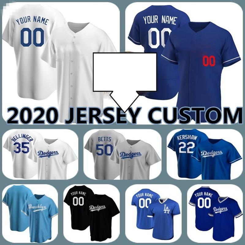 50 Mookie Betts Los Angeles Mens Jerseys Baseball 22 Clayton Kershaw Custom 35 Cody Bellinger Joc Pederson Seegereis Bryant Ross Strips