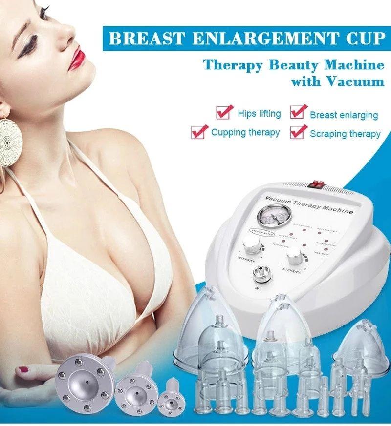 حار بيع فراغ العلاج آلة كأس الثدي تعزيز مص التمريض رفع الأرداف جهاز dhl ups شحن مجاني