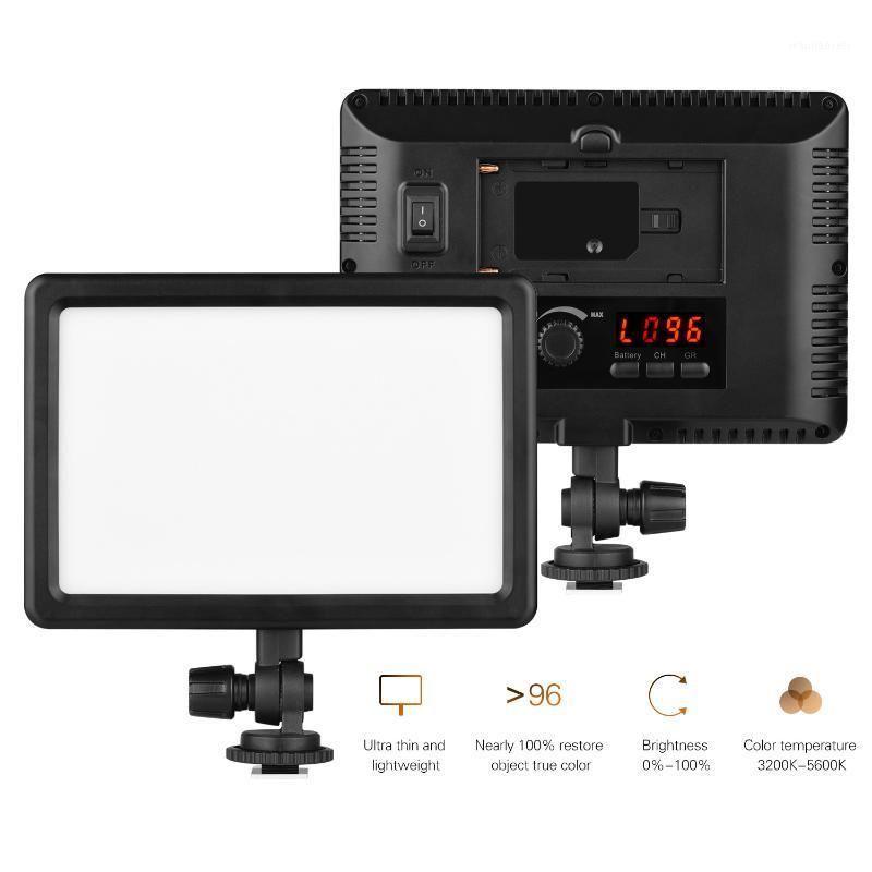 LED-25A 25W LED Riempimento Pannello Video Pannello luminoso Pannello fotografia Dimmerabile luce portatile con adattatore CA per fotocamera DSLR Camcorder1