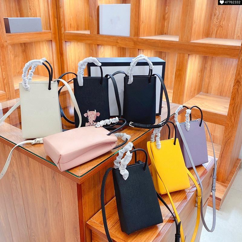 New Designer Handbags Fashion Bag PU Leather Shoulder Bags Handbag Purse Clutch Small Wallet Colorful Ship With Box