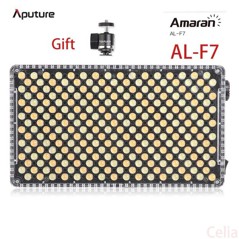 Aputure Amaran AL-F7 Farbtemperatur 3200-9500K CRI / TLCI 95+ LED-Panel vielseitigste On-Kamera LED-Licht