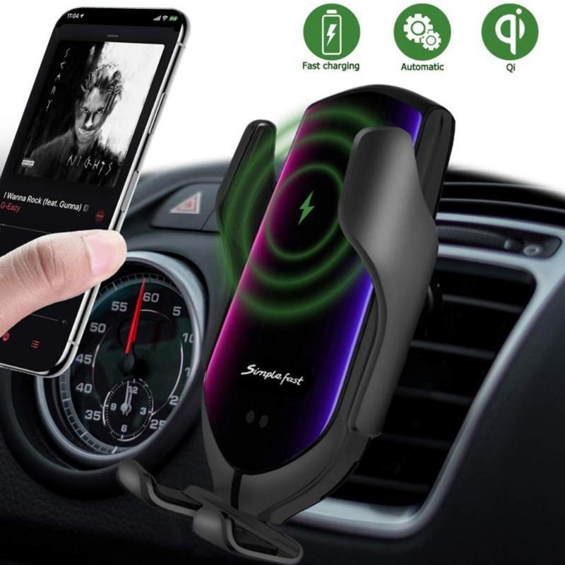 FLOVEME R3 Auto Holder Phone Stand Smart Auto Sensor Clamp Caricabatterie wireless 10W Ricarica rapida Supporto per supporto per S9