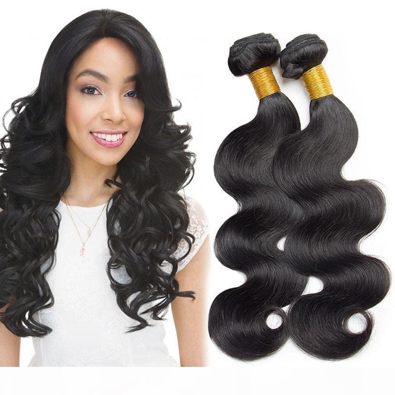 بيع موجة الجسم 3 حزم Uprocessed العذراء البرازيلي الشعر حزم الأسود الطبيعي الماليزي الهندي بيرو الشعر حزم رخيصة