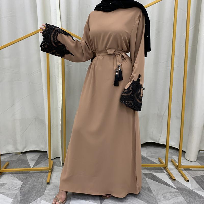 Этническая одежда Kaftan Dubai Abaya Турция Мусульманская мода Hijab платье Ислам CAFTAN Abayas для женщин Vestidos European Musulman de Mode