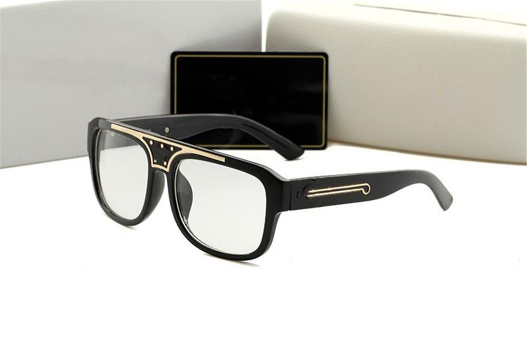 الفاخرة 426 مصمم النظارات الشمسية للرجال الأزياء إطار كامل uv400 uv حماية عدسة المرأة الصيف مربع نمط comw مع مربع