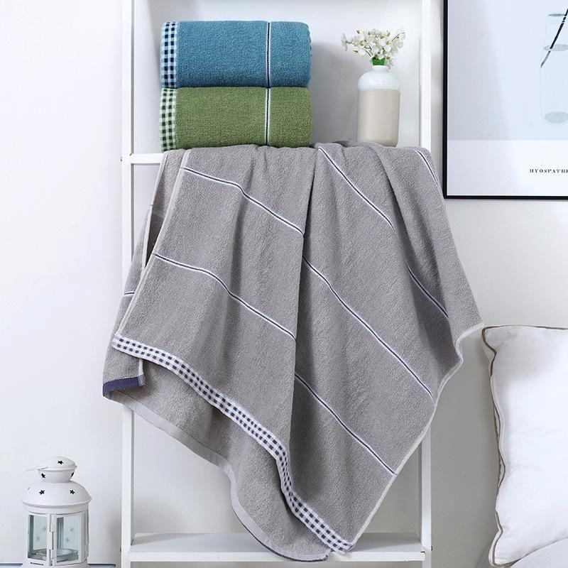 Toalha de banho O algodão puro não pode absorver água e cabelo. Aumentar o banho de toalha