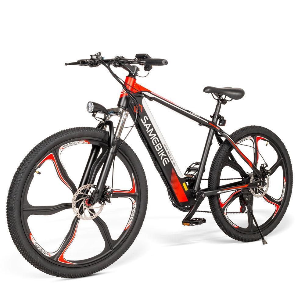 Samebike SH26 Adult Electric Bicycle Mountain E Bike 2 Wheels Electric Bicycles 350W 36V Electric Scooter Bike