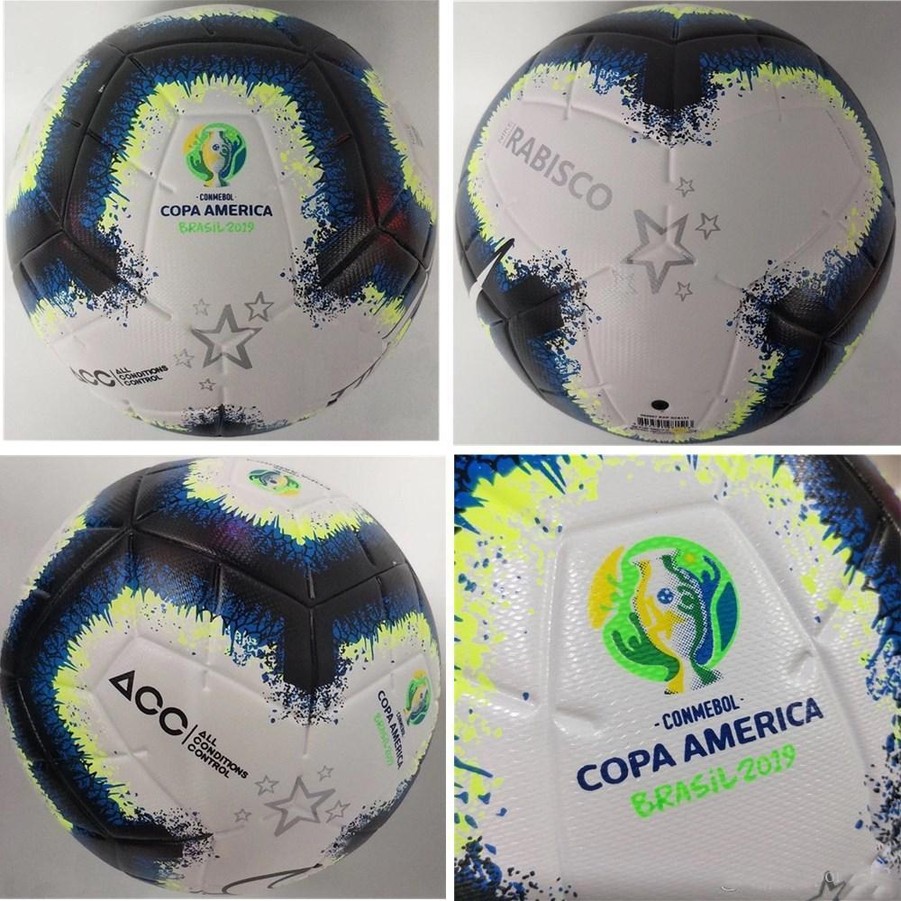 2019 Copa America soccer ball Final KYIV PU size 5 balls granules slip-resistant football Free shipping high quality ball