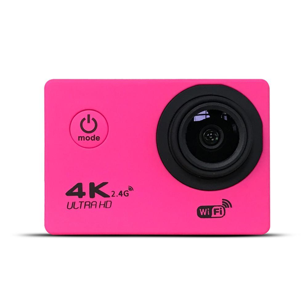 "F60 Ultra 4K عمل كاميرا Allwinner 4K / 30FPS 1080P Sport Wifi 2.0 ""170D خوذة كام تحت الماء الذهاب للماء"