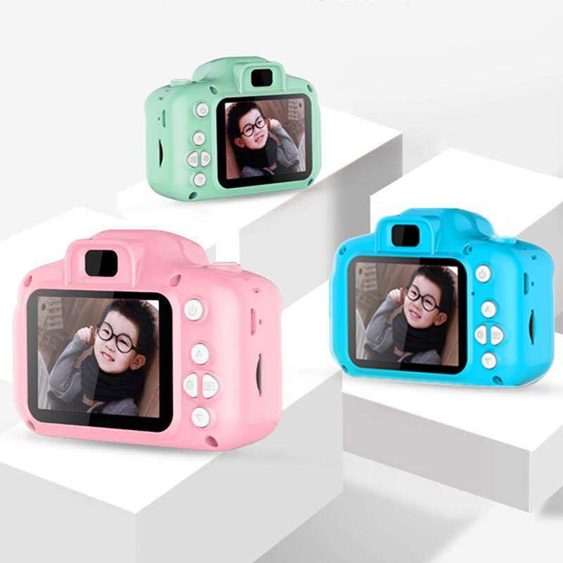 Kinder Mini-Kamera für Kinder Lernspielzeug für Baby-Geschenke Geburtstags-Geschenk-Digitalkamera 1080P Projektionsvideokamera Schießen 201004 #S