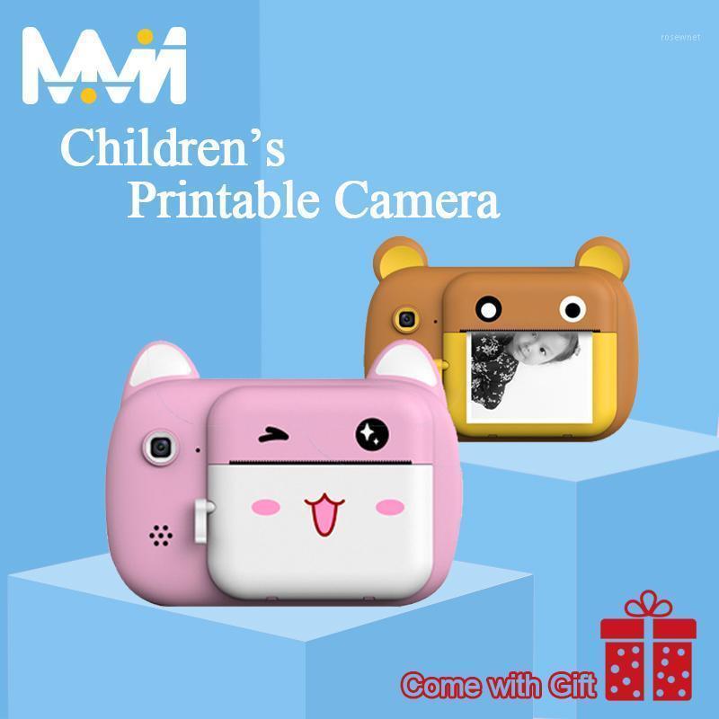 Cámara para niños Cámara Polaroid para niños IPS Imprimible 2400W Pixel HD Digital Niños Pintura Mejor regalo1
