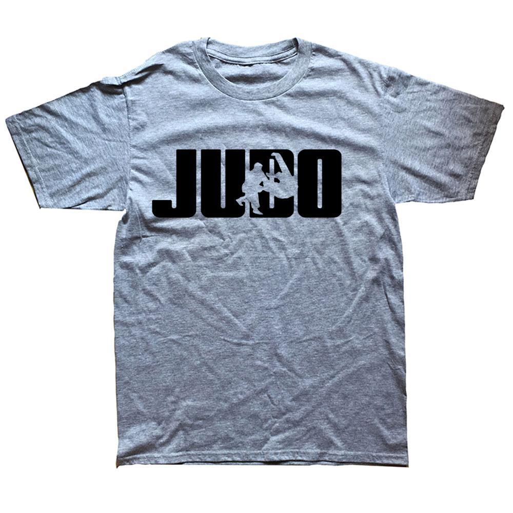 Tee en coton de mode JUDO JEUNES COLLER COLLIER COURT CHEVE-T-shirt Haute Qualité Mens Hommes T-shirts