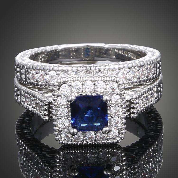 Edles Kristall Ringe Hohe Qualität Paar Diamant Ringe Zirkon Ringe Frauen Modeschmuck Valentinstag Geschenk Souvenirs