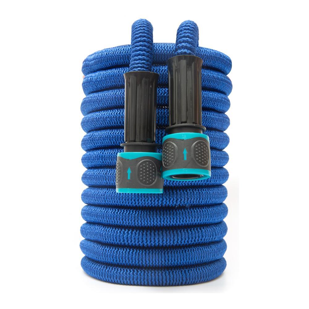 Lavado de autos extensible Flexible para el tubo de estiramiento de jardín expandible Riego Manguera mágica 1008