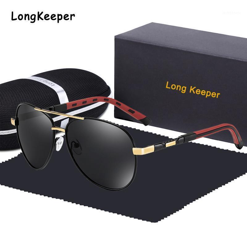 2020 occhiali da sole classici da uomo di alta qualità polarizzati UV400 maschile occhiali da sole pilota per le donne accessori per occhiali con scatola scatola1