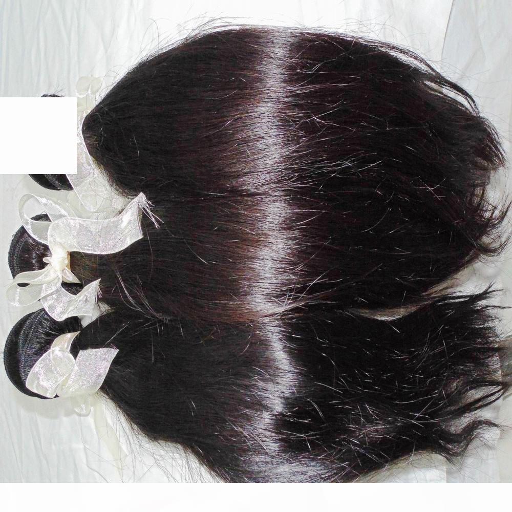 Вест Звезда Лучшие Девы Перуанские Прямые шелковистые Волосы 3 Пакета Обращение Продажа Сестра Любовь Weaves