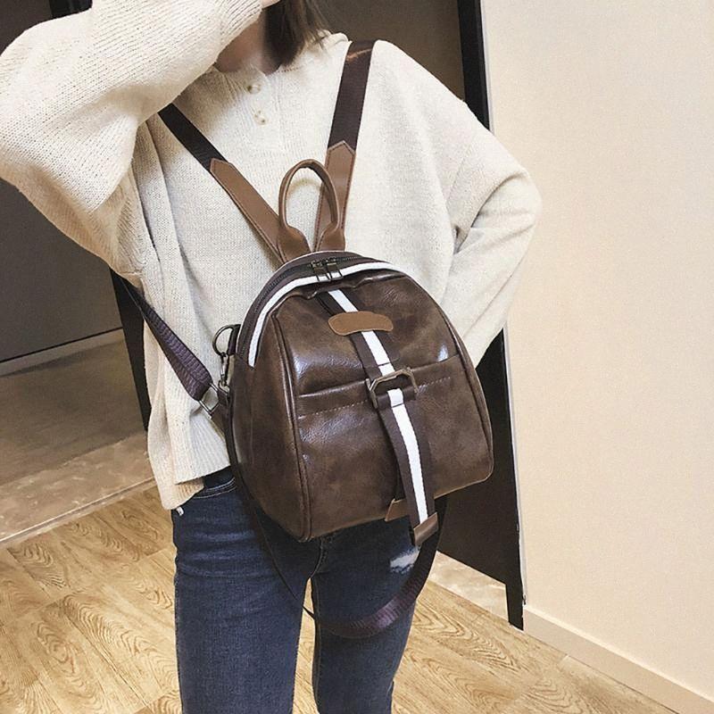 2020 Frauen-Rucksack der neuen Art-koreanische Art Oxford Cloth Schulranzen Multi Functional wasserdichte Anti-Diebstahl-Außen Reisen # js5 bPAe #