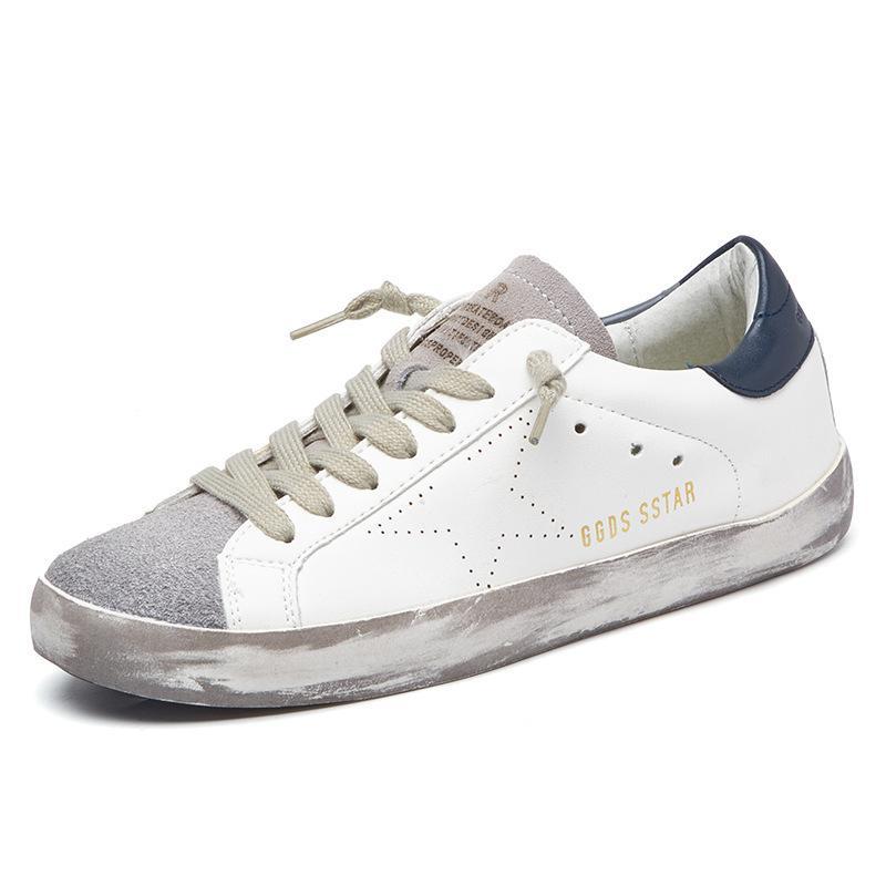 New Running Shoes Sneakers PU Cuero Sport Zapatos de Jogging Entrenadores Outdoor Old Sucuc Light Calzado Pareja de zapatos 201019
