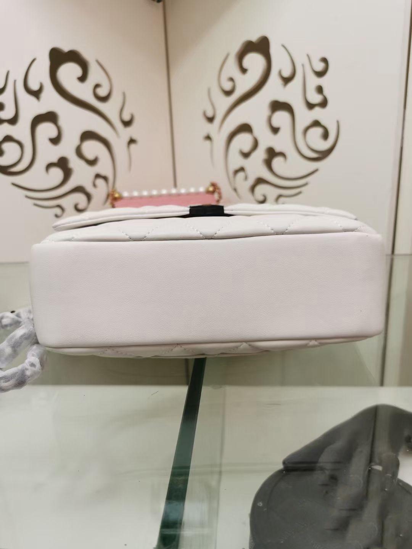 Ombro ss cc preto de alta qualidade couro branco frete saco luxurys designers sacos sacos de malas 2021 messenger womens genuíno e flvqx