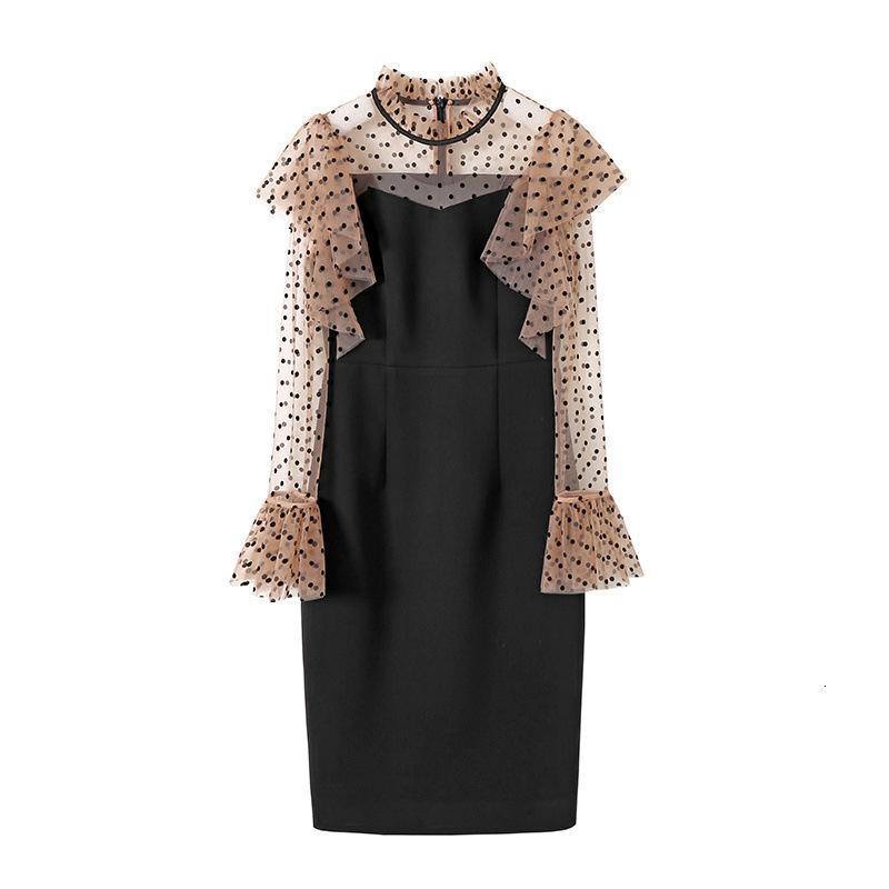Kadın Moda 20121710 Neon Elbise Erken Bahar 2021