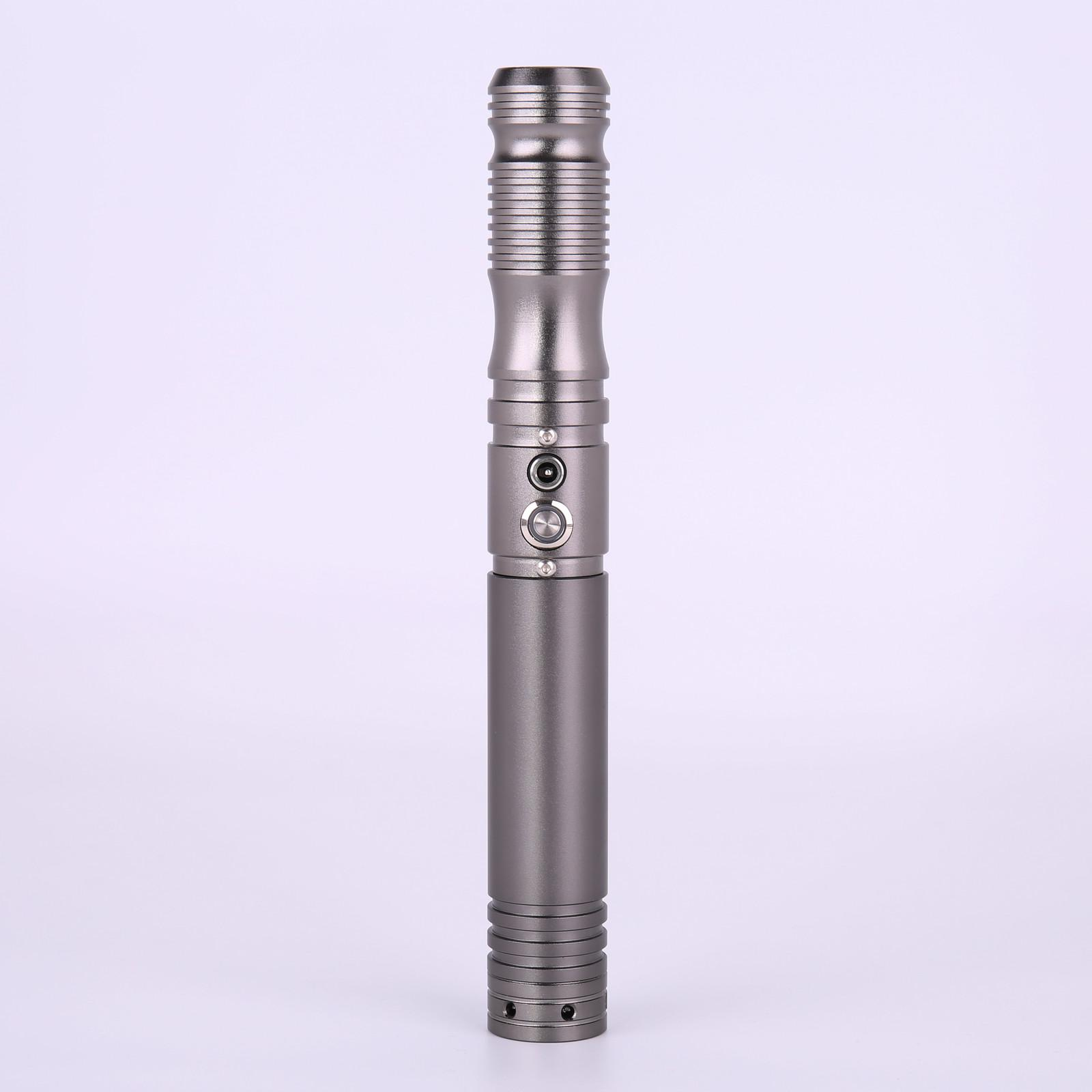 TXQSaber TS013 Ağır Dueling Foc Metal Kolu Lightsaber Force FX 12 Renkler 6 Ses Yazı Tipleri Blaster Kilitleme Işık Kılıç-TS013 Q0113