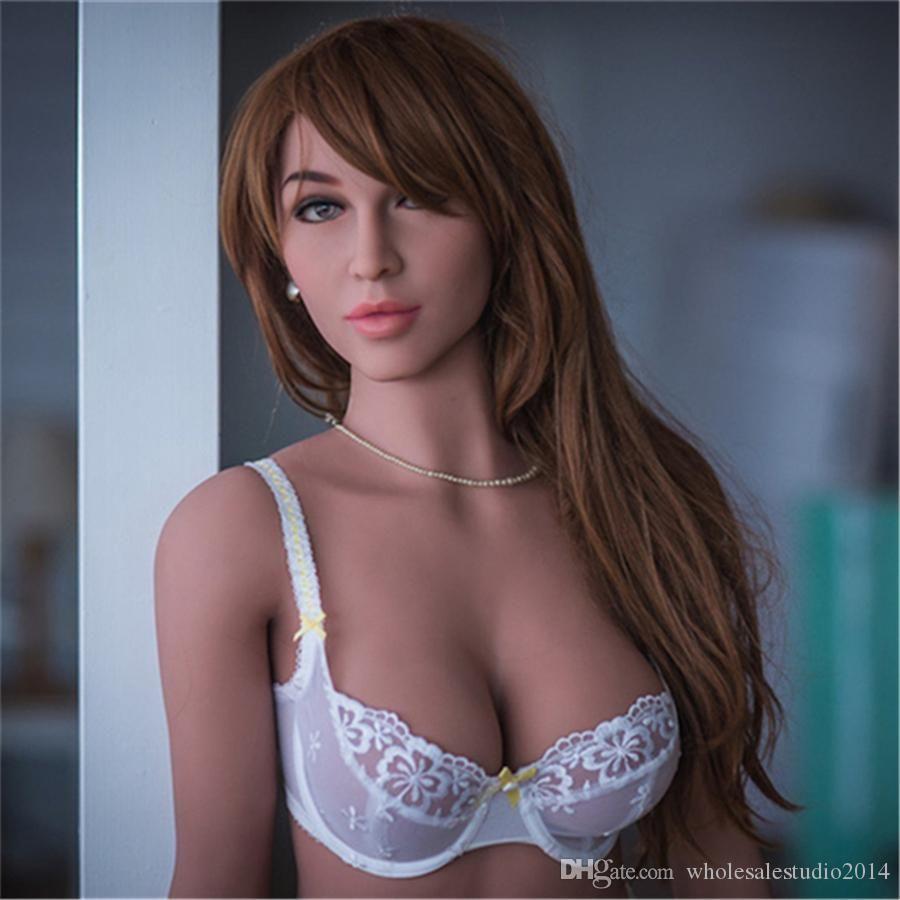 Черный Секс Сексуальная 165см Грудь Влагалище Реалистичные Средние игрушки Куклы Love Doll мастурбатор для взрослых Мужской куклы Fsjoe