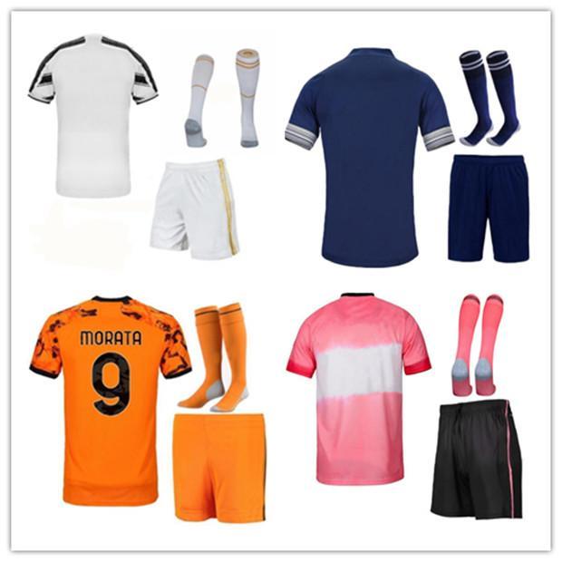 20 21 رجلا + أطفال كيت كرة القدم الفانيلة 2020 2021 المنزل بعيدا الكبار والفتيان كيت مايلوت دي القدم مخصص اسم وعدد قميص كرة القدم وقصيرة