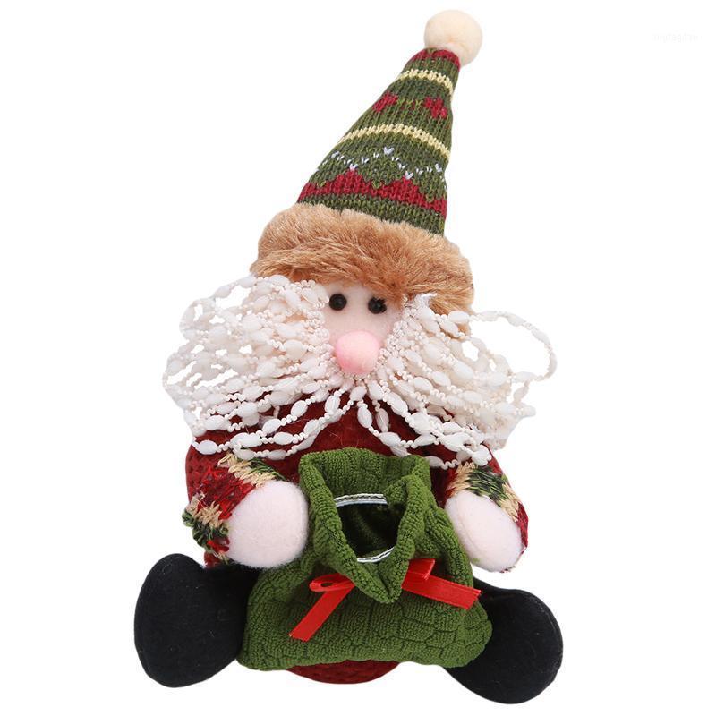 Рождественские украшения подарок конфеты сумка дерево декор украшения рождественского дерева Санты Клаус Снеговик reader1