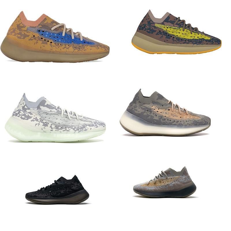 con scatola 2020 nuovi uomini e donne 380 alieno nebbia blu avena lmnte pepe sneakers riflettente sneakers onde corridore scarpe da corsa